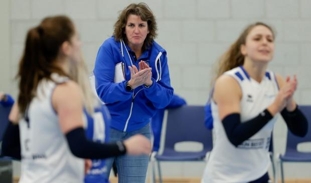 Coach Vera Koenen toont zich tevreden over een succesvolle Sliedrechtse actie