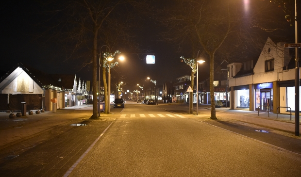 <p>De Soesterbergsestraat: verlaten.</p>