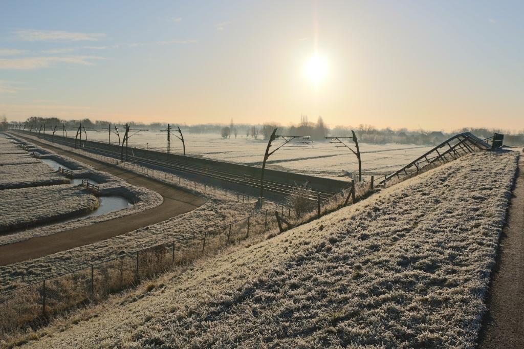 De polder met een mooi zonnetje  Sander Egas © BDU media