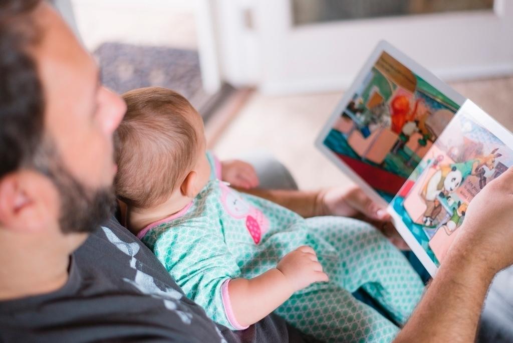 Vader leest voor. OBA © BDU media