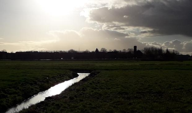 De skyline van Ouderkerk aan de Amstel.