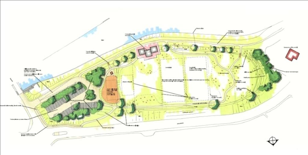 Het herinrichtingsplan van 't Waardje Gemeente Molenlanden © BDU Media