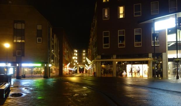 Avondklok in Houten