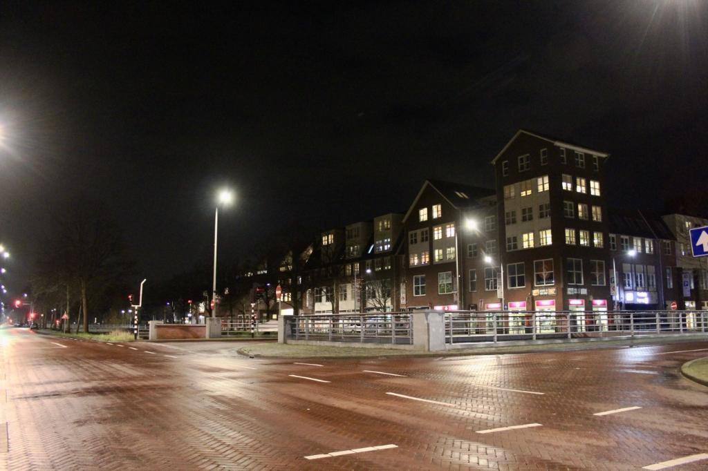 Lege straten in het centrum van Nieuw-Vennep. Ton Dijkstra © BDU media