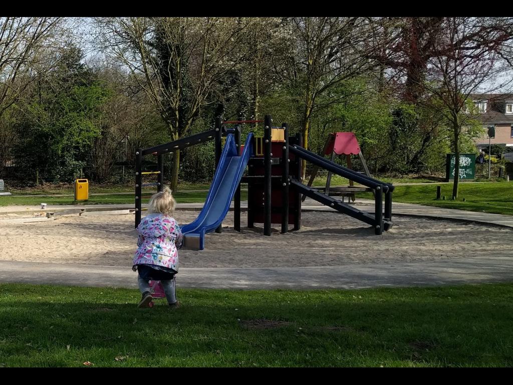 De speeltuin in betere tijden Marije de Heus © BDU media
