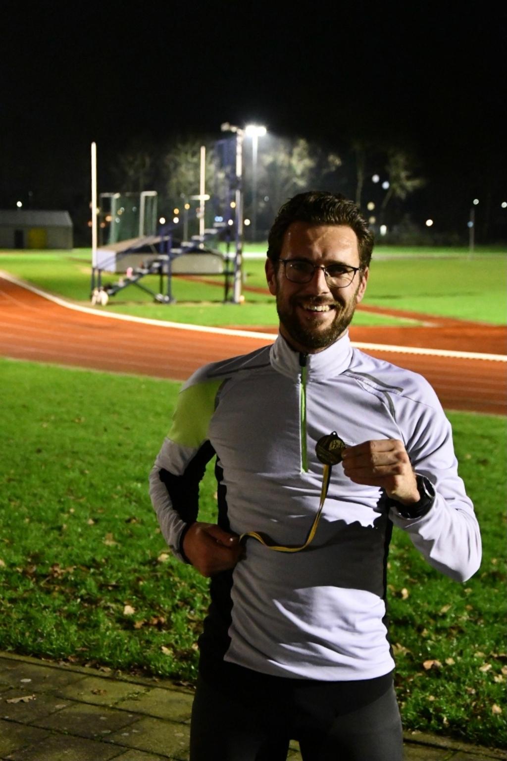 Winnaar op de 4,5 km Matthijs Wiggers phijstek © BDU media