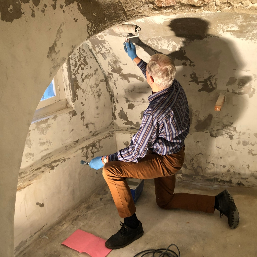 Renovatie van de kelder museum De Koperen Knop © BDU media