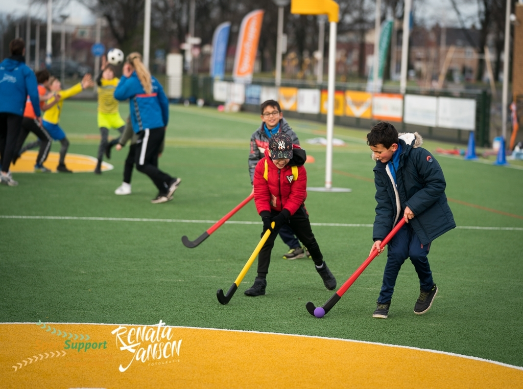 Kinderen in actie tijdens de activiteit Renata Jansen Fotografie © BDU