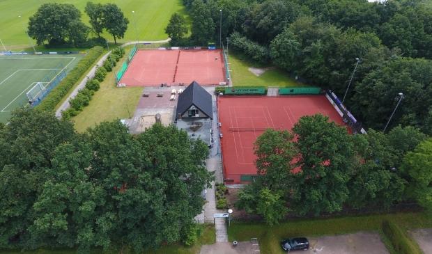 Tennispark van ATV Amerongen