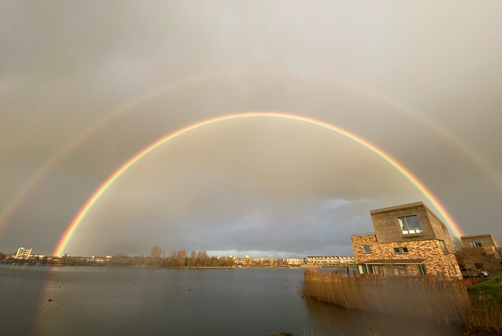 <p>Dubbele regenboog</p> <p>Berend-Jan</p> © BDU media