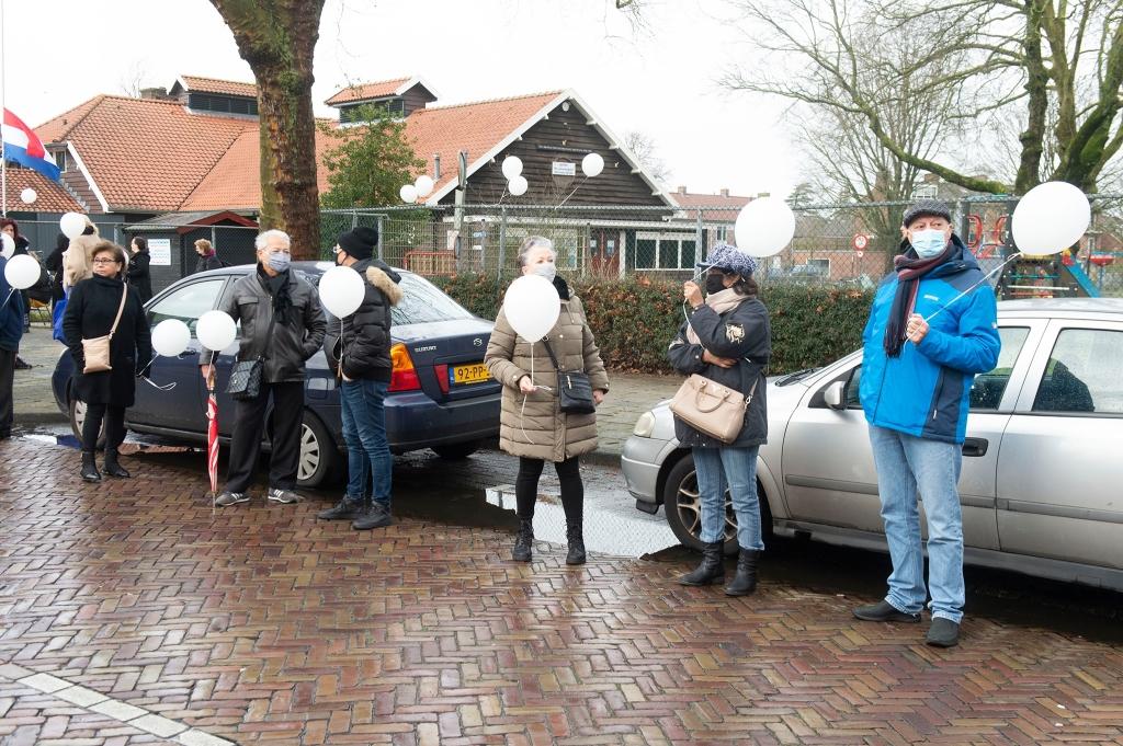 Afscheid Manie ter Wal Speeltuin vereniging in Soesterkwartier Rinus van Denderen © BDU media