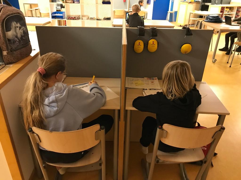 Noodopvang van SNO Scherpenzeel tijdens de tweede lockdown in De Dorpsbeuk. Lotte Oosterhout © BDU media