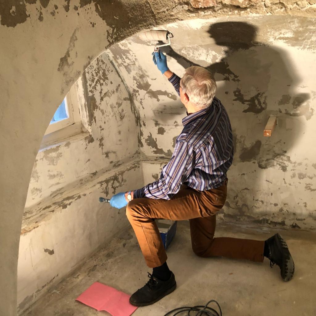 Renovatie kelder museum De Koperen Knop © BDU media