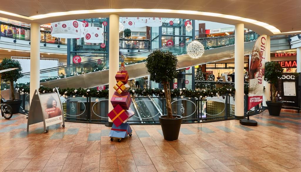 Winkelcentrum Symfonie in kerststemming, maar Hans Vogler schoot terwijl er geen mensen waren. Hans Vogler © BDU media