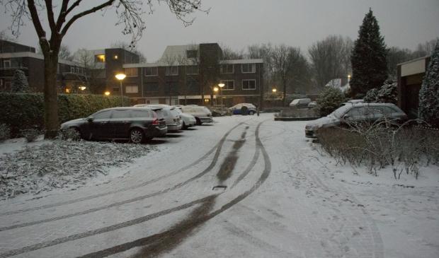 sneeuw in Duivendrecht