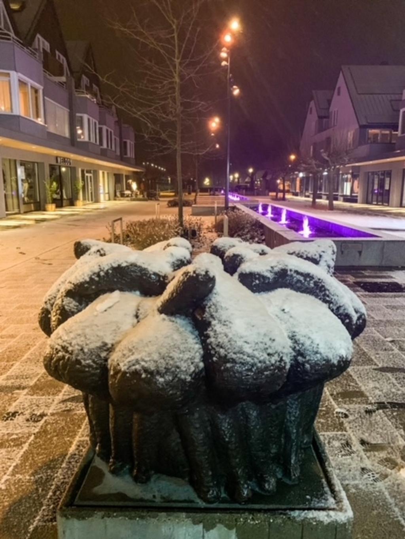 <p>Sneeuw in Leusden.</p> Albertine Buunk © BDU media