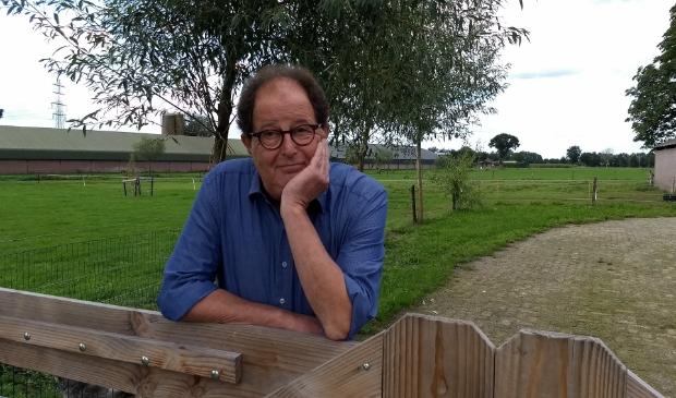 Dorpsdichter Pieter van Heiningen.