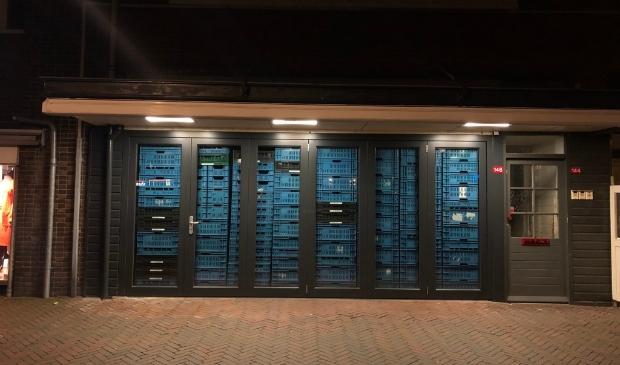 <p>Een van de maatregelen die een ondernemer nam, na de berichtgeving over mogelijke rellen in het centrum van Heemstede.</p>
