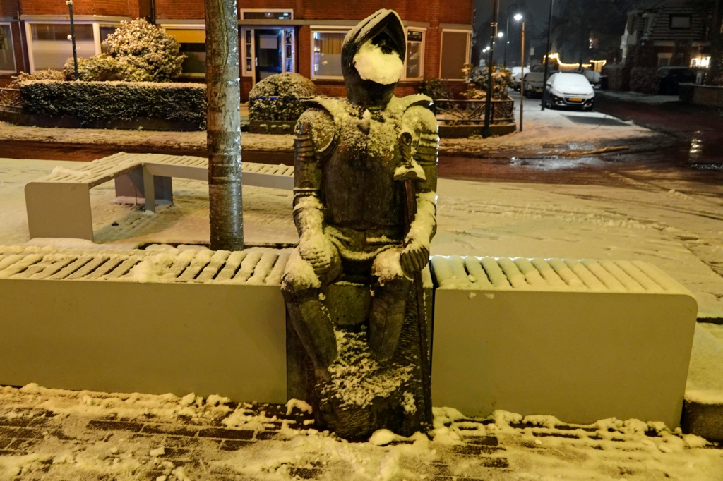 <p>Jan van Schaffelaar in de sneeuw.</p> Ben Bläss © BDU media