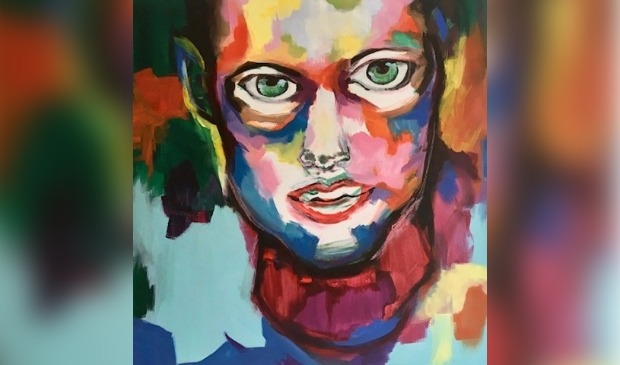 """Face"" van Jong Talent Sjanne Boutens"