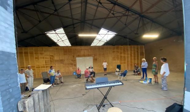 Repetitie bij Steenfabriek De Bosscherwaarden