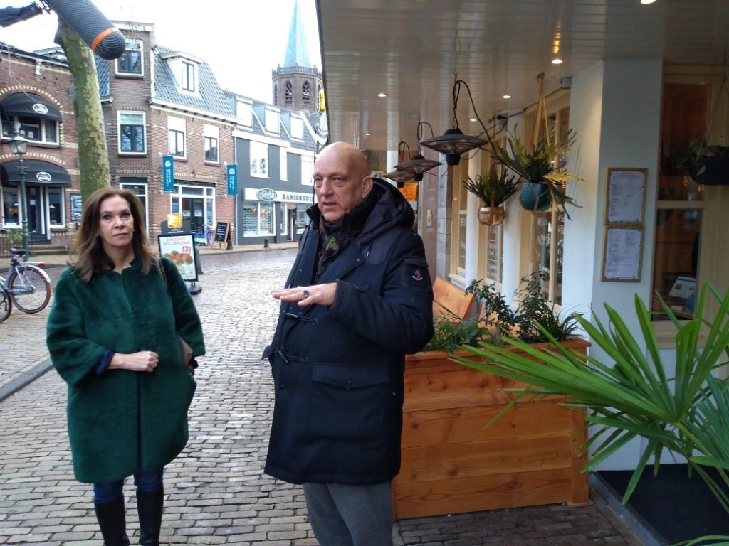 Annemarie van Gaal en Herman den Blijker kwamen Miro uit de brand helpen. Agnes Corbeij © BDU media