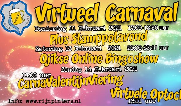 <p>Met een online bingoshow en een virtuele optocht gaat het carnaval gewoon door.</p>