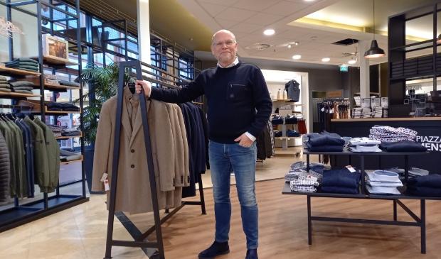 Leon Karreman in zijn winkel Piazza Menswear.