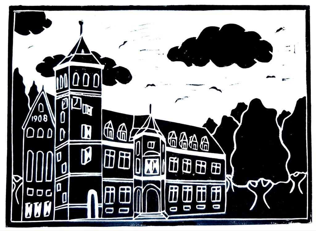 Linosnde: Het Gemeentehuis van Zeist Lasse van den Dikkenberg © BDU