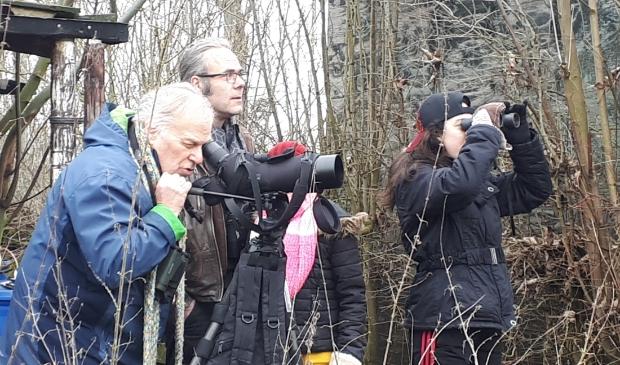 Tuinvogeltelling in het Wijkse voedselbos van Natuurlijk heel leuk samen met VNMW/IVN Wijk bij Duurstede