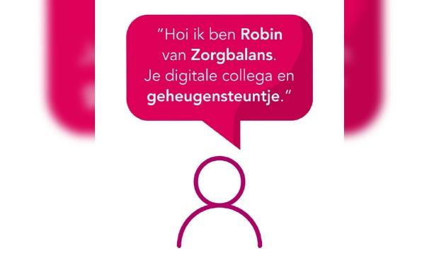 Robin de digitale collega van Zorgbalans