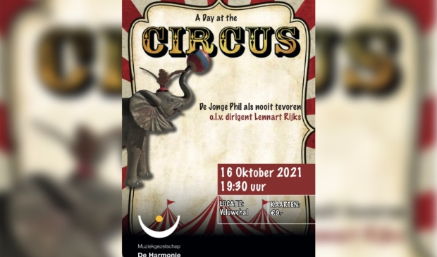 Poster A Day at the Circus