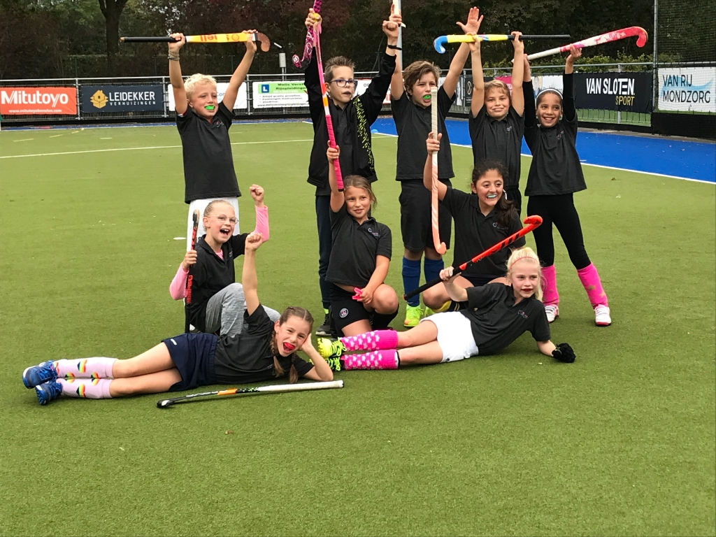 Het winnende team groep 5-6 't Speel-kwartier Teus © BDU Media
