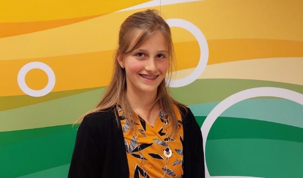 <p>Feline Lauret is afgelopen donderdag officieel ge&iuml;nstalleerd als kinderburgemeester.</p>