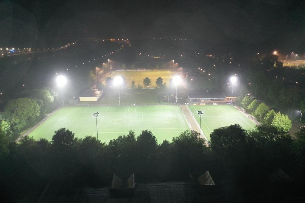 LED-sportveldverlichting Gorinchem Gemeente Gorinchem © BDU Media