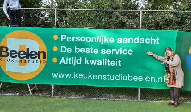 Presentatie nieuwe sponsor SV Odijk Tennis