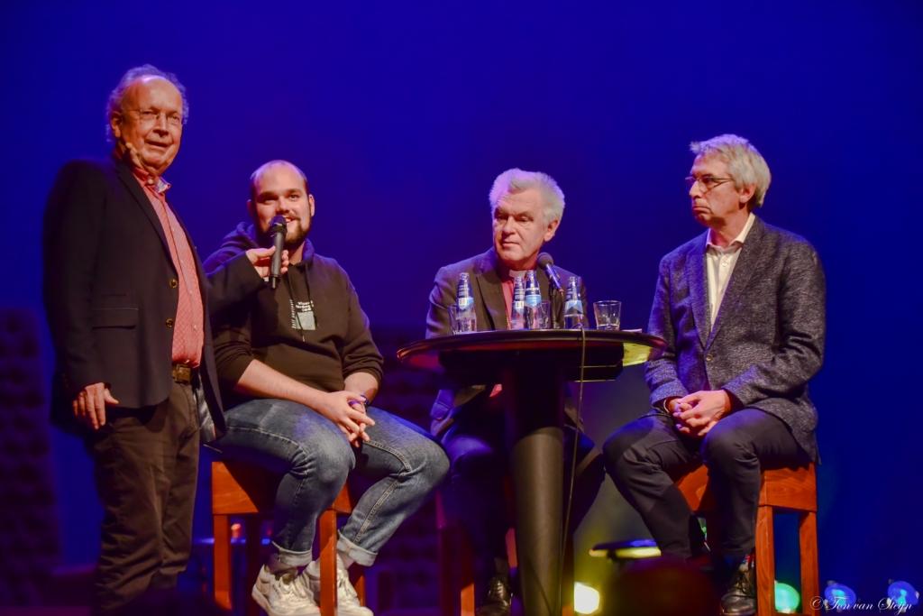 Paul Haenen, Bisschop Schoon, Frank Cornet en Marijn Baggerman over de moeilijkheden die het geloof met zich meebrengt voor de LHBTI- gemeenschap. Ton van Steijn © BDU Media