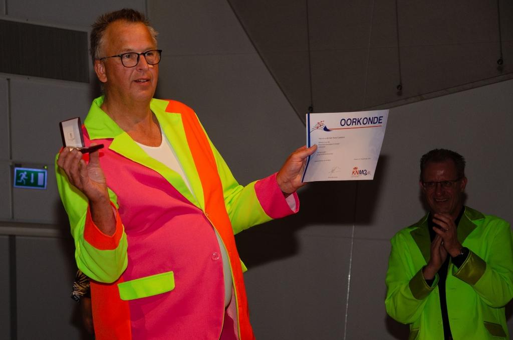 Roelof Gaasbeek gehuldigd Thieme Wels © BDU media