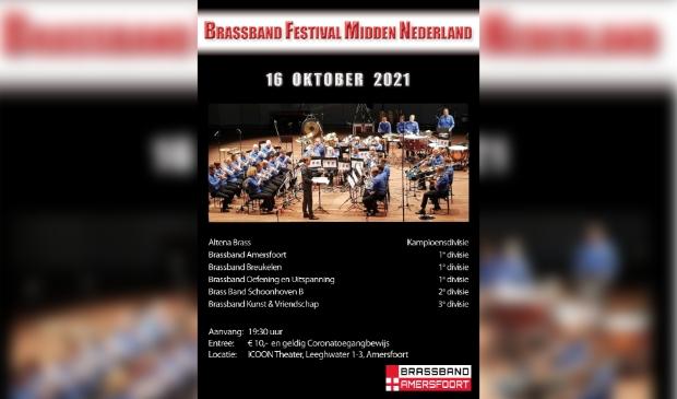 Brassband Festival in het Icoon Theater Amersfoort