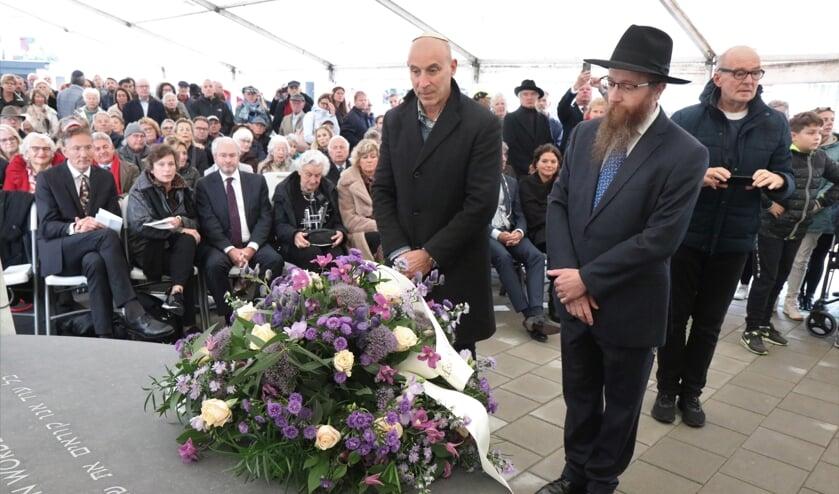 Onthulling Namenmonument voor Joodse Slachtoffers uit Zandvoort