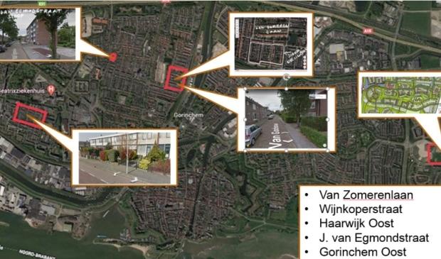 Overzicht van bouwplannen van Poort6 in de stad