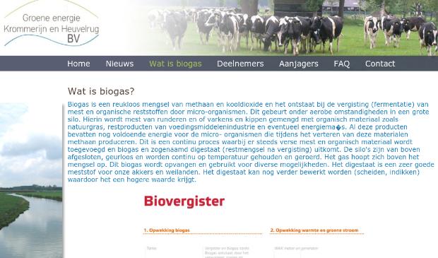 Website van initiatiefnemers Rijn Heuvelrug Energie