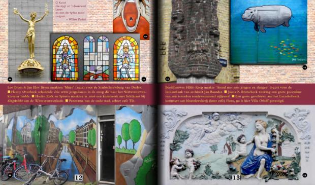 Enkele pagina's uit het fotoboek.