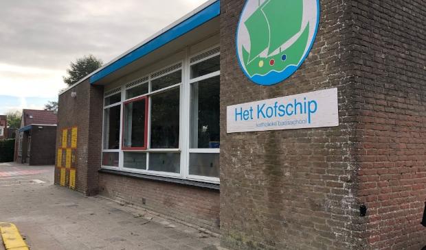 Het schoolgebouw van Het Kofschip