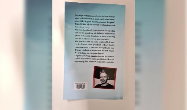 De achterkant van het boek
