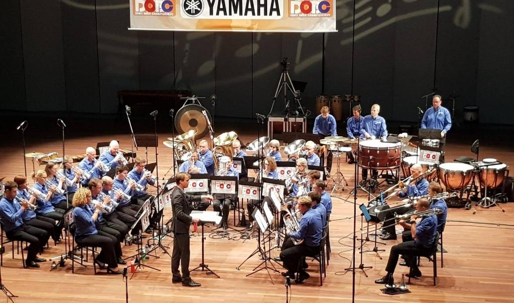 Brassband Amersfoort in actie CUBrass © BDU media