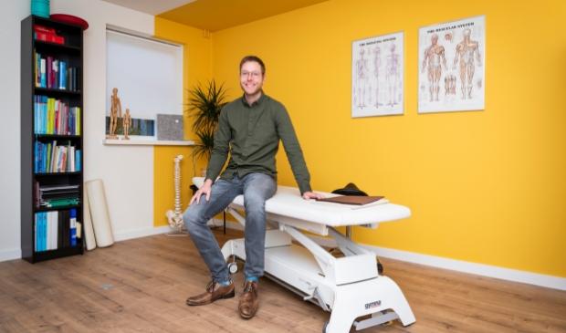 <p>Marco van de Visch, initiatiefnemer van Osteomarco in Voorthuizen.</p>