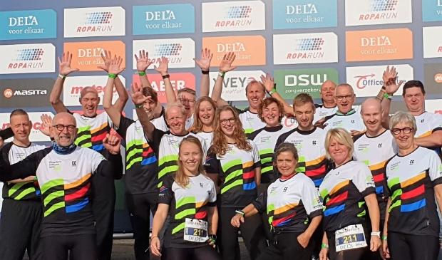 Team Climax Ede voor de start in Landgraaf
