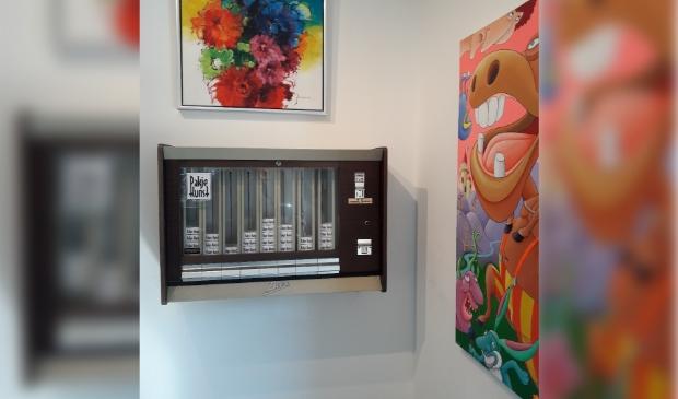 Pakje Kunst automaat