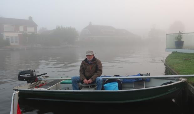 Grote winnaar bij de boten Ernst Hartog nog in de mist